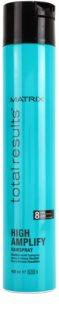 Matrix Total Results High Amplify lak na vlasy pre flexibilné spevnenie