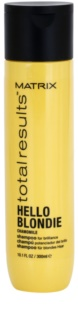 Matrix Total Results Hello Blondie Protective Shampoo For Blonde Hair