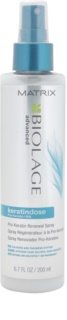 Matrix Biolage Advanced Keratindose spray reparador para cabello sensible