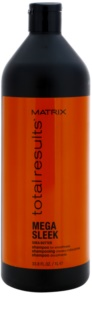 Matrix Total Results Mega Sleek shampoing pour cheveux indisciplinés et frisottis