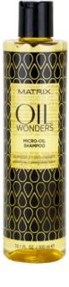 Matrix Oil Wonders szampon z mikro-olejkami do nabłyszczania i zmiękczania włosów