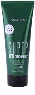 Matrix Style Link Play гель для волосся сильної фіксації