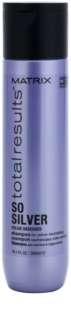 Matrix Total Results So Silver Shampoo zum Schutz blonder Haarfarbe