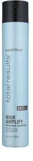 Matrix Total Results Amplify Hairspray Extra Strong Hold