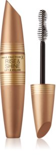Max Factor Rise & Shine maskara za volumen in privihanje trepalnic