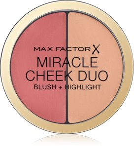 Max Factor Miracle Cheek Duo colorete e iluminador en crema