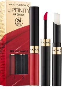 Max Factor Lipfinity dlhotrvajúci rúž s balzamom