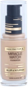 Max Factor Miracle Match maquillaje líquido con efecto humectante