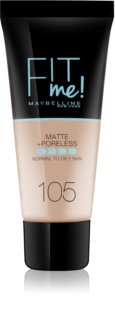 Maybelline Fit Me! Matte+Poreless Mattifying Makeup for Normal to Oily Skin