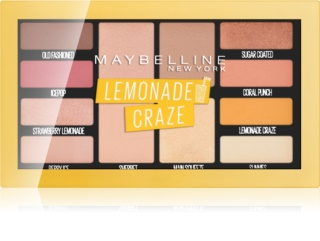 Maybelline Lemonade Craze paleta cieni do powiek