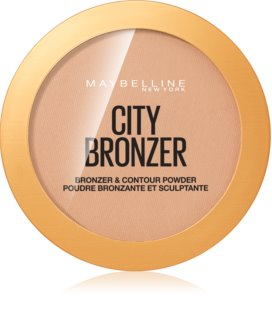 Maybelline City Bronzer бронзатор та контурна пудра
