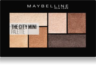 Maybelline The City Mini Palette oogschaduw palette