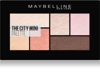 Maybelline The City Mini Palette paletă cu farduri de ochi