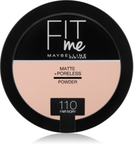 Maybelline Fit Me! Matte+Poreless матираща пудра