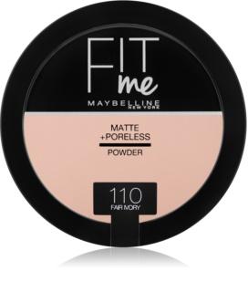 Maybelline Fit Me! Matte+Poreless матираща пудра