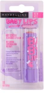 Maybelline Baby Lips Winter barvni vlažilni balzam za ustnice