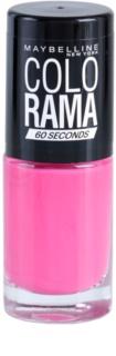 Maybelline Colorama 60 Seconds rýchloschnúci lak na nechty