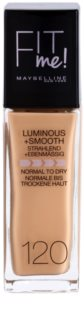 Maybelline Fit Me! Liquid Foundation For Brightens And Smoothes Sklin