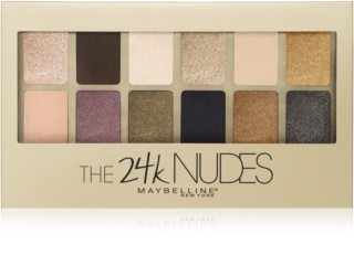Maybelline The 24K Nudes paletka očných tieňov