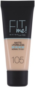 Maybelline Fit Me! Matte+Poreless tekoči puder