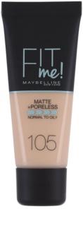 Maybelline Fit Me! Matte+Poreless make up