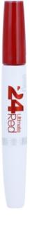 Maybelline SuperStay 24H Ultimate Red Vloeibare Lippenstift  met Balsem
