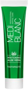 MEDIBLANC Whitening Aloe Vera pasta dentífrica regeneradora con efecto blanqueador