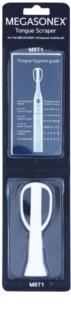 Megasonex M8T1 nadomestno strgalo za jezik za ultrazvočno zobno ščetko