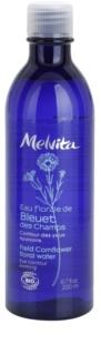 Melvita Eaux Florales Bleut des Champs lotion nettoyante apaisante contour des yeux