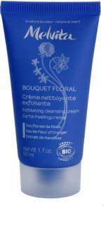 Melvita Bouquet Floral crema exfoliante limpiadora