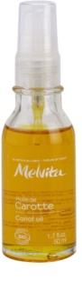 Melvita Huiles de Beauté Carotte 100 % arganový olej pre suché miesta tváre a pier na tvár a telo