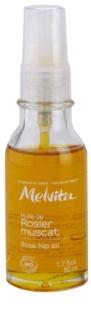 Melvita Huiles de Beauté Rosier Muscat Hydraterende Revitaliserende Olie  voor Gezicht en Lichaam