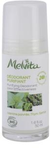 Melvita Les Essentiels dezodorant roll-on brez vsebnosti aluminija 24 ur