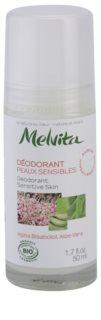 Melvita Les Essentiels déodorant roll-on sans aluminium pour peaux sensibles