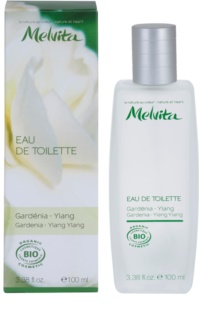 Melvita Organic Eau De Toilette Eau de Toilette voor Vrouwen  100 ml  Gardenia - Ylang Ylang