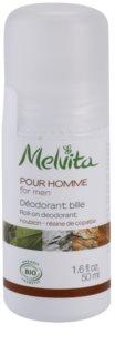 Melvita Pour Homme deodorant roll-on bez obsahu hliníku