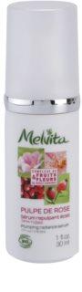 Melvita Pulpe de Rose serum za osvetljevanje proti prvim znakom staranja kože