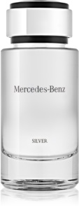Mercedes-Benz For Men Silver Eau de Toilette for Men 120 ml