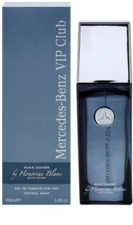 Mercedes-Benz VIP Club Black Leather eau de toilette férfiaknak 100 ml