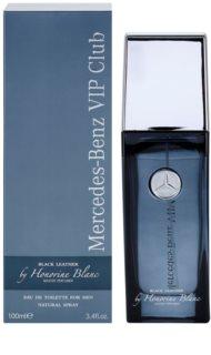Mercedes-Benz VIP Club Black Leather eau de toilette para hombre 100 ml