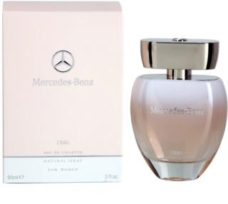 Mercedes-Benz Mercedes Benz L'Eau Eau de Toilette voor Vrouwen  90 ml