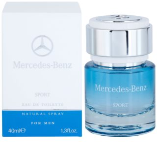 Mercedes-Benz Sport Eau de Toilette for Men 40 ml