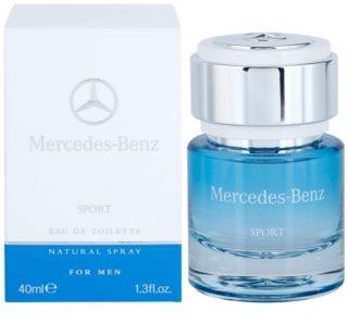 Mercedes-Benz Sport eau de toilette para homens 40 ml