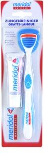 Meridol Halitosis nyelvkaparó + fogkrém