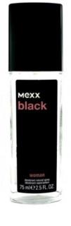 Mexx Black Woman Deo mit Zerstäuber für Damen 75 ml