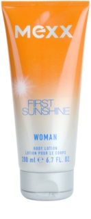 Mexx First Sunshine Woman leche corporal para mujer 200 ml
