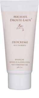 Michael Droste-Laux Basiches Naturkosmetik desodorizante em creme
