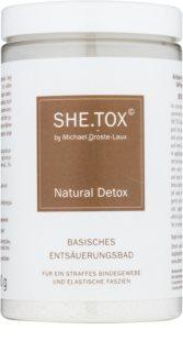 Michael Droste-Laux SHE.TOX banho desintoxicante