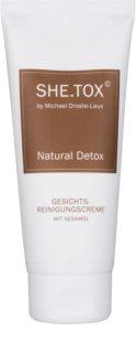 Michael Droste-Laux SHE.TOX creme de limpeza para todos os tipos de pele