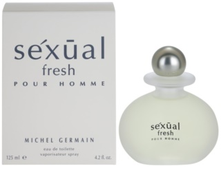 Michel Germain Sexual Fresh Pour Homme Eau de Toilette para homens 125 ml
